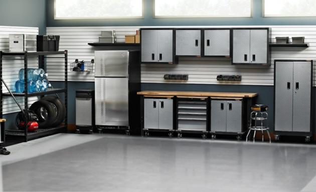 organize garage - garage storage system