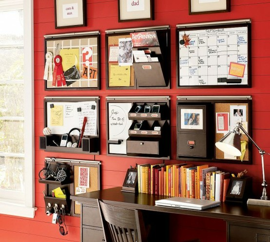 Organizing Ideas For Wall Spaces To Get Organized