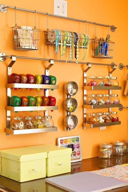 Ikea Craft organizers